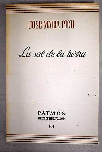 9788432118548: La sal de la tierra (Patmos) (Spanish Edition)