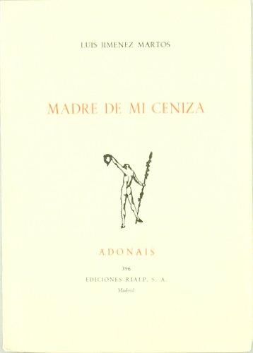 9788432121920: MADRE DE MI CENIZA