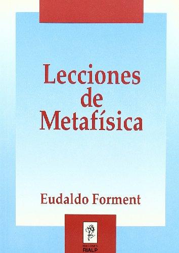 9788432129230: Lecciones de Metafísica (Manuales Universitarios)