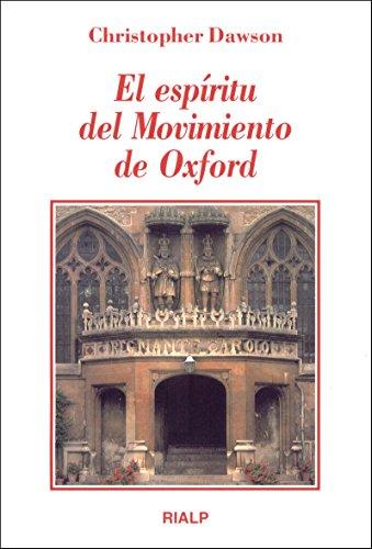 9788432133015: El espíritu del Movimiento de Oxford (Literatura y Ciencia de la Literatura)