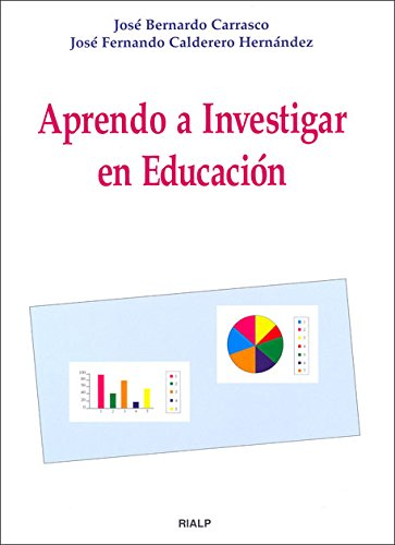 9788432133183: Aprendo a investigar en educación (R) (2000)