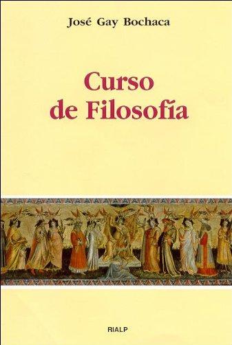 9788432133497: Curso de filosofía (Manuales Universitarios)