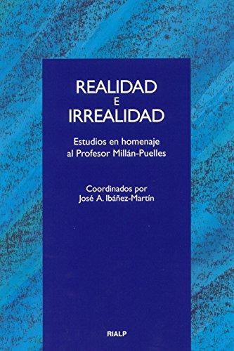 9788432133701: Realidad e Irrealidad (Cuestiones Fundamentales)