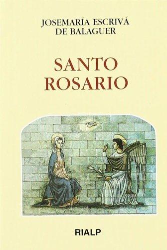 9788432134432: Santo Rosario. (Agenda, rústica) (Libros de Josemaría Escrivá de Balaguer)