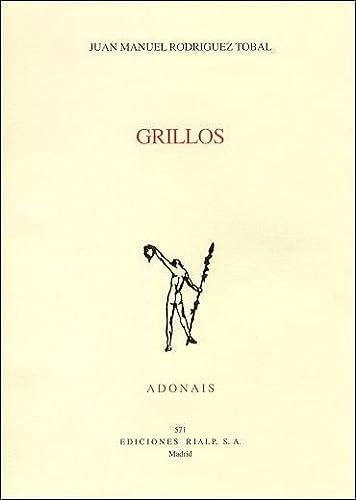9788432134739: Grillos (Poesía. Adonais)
