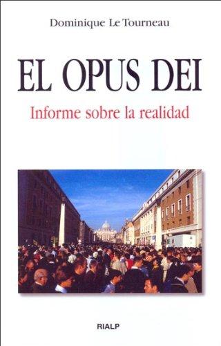 9788432135873: El Opus Dei