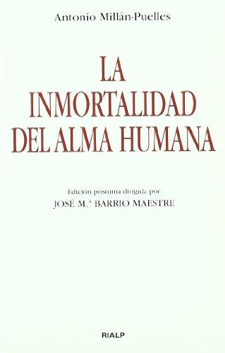 9788432136696: La inmortalidad del alma humana (Bolsillo)