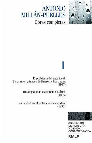 9788432141980: OBRAS COMPLETAS I ANTONIO MILLAN-PUELLES