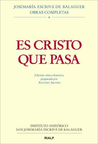 9788432143441: Es Cristo que pasa. Edición critico-histórica