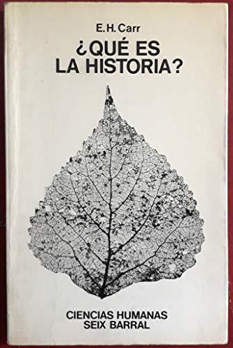 9788432201455: ¿Qué es la historia?