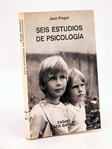 9788432201479: Seis Estudios De Psicologia