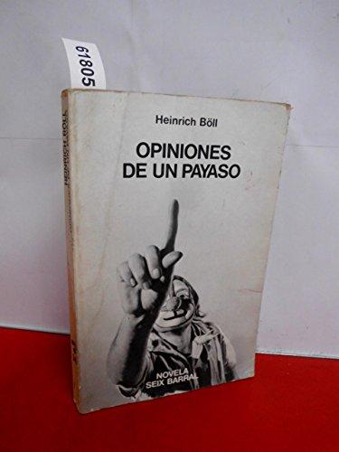 9788432202469: Opiniones De Un Payaso