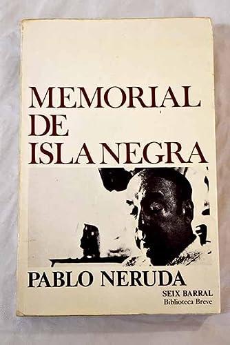 9788432203053: Memorial De Isla Negra (Spanish Edition)