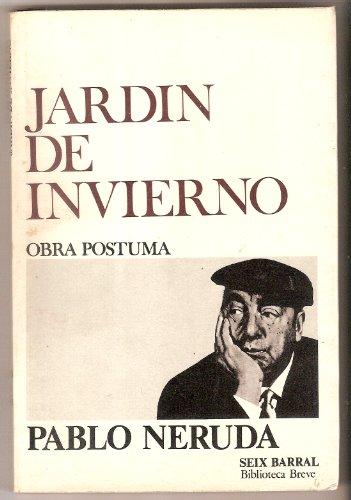 9788432203077: Jardin De Invierno (Biblioteca breve ; 416 : Poesia) (Spanish Edition)