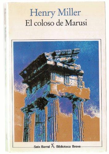 9788432204272: El coloso de marusi