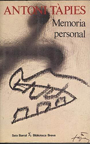 9788432204791: Memoria personal