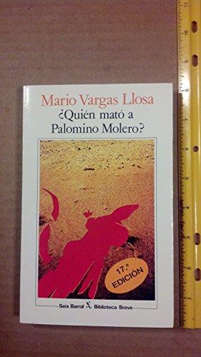 9788432205422: Quien Mato a Palomino Molero? (Spanish Edition)
