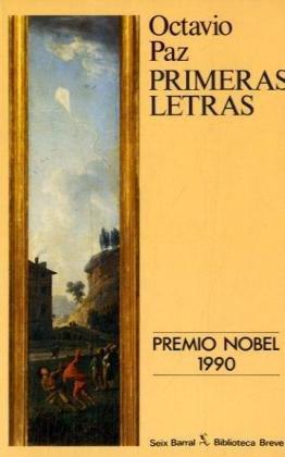 9788432205965: Primeras letras (Biblioteca breve)