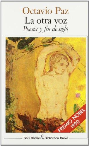 9788432206306: La Otra Voz: Poesia y fin de siglo