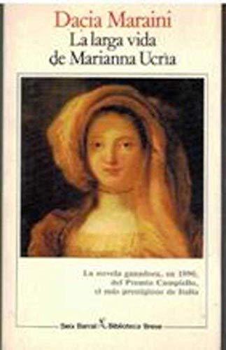 9788432206412: LARGA VIDA DE MARIANNA UCRIA (SEIX).