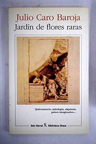 9788432206948: Jardin de flores raras (Biblioteca breve) (Spanish Edition)