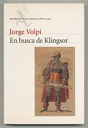 EN BUSCA DE KLINGSOR: JORGE VOLPI