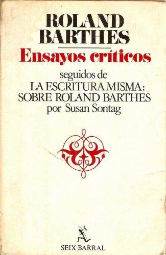 9788432208225: Ensayos Criticos (Spanish Edition)