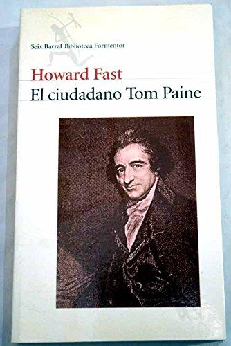 9788432219344: El ciudadano Tom Paine