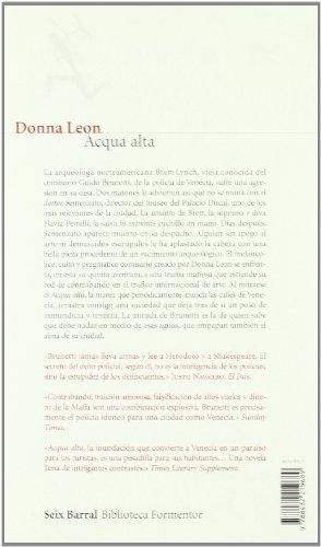 9788432219689: Acqua alta (Biblioteca Formentor)