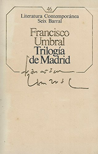 9788432220494: Trilogía de Madrid