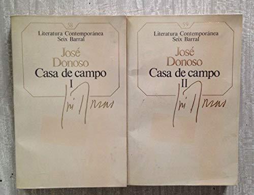 9788432220609: CASA DE CAMPO (2 volúmenes)
