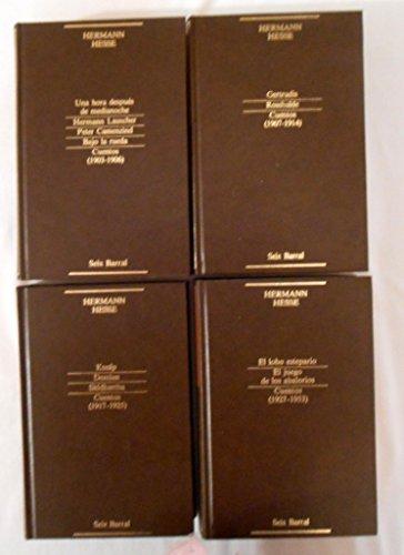 9788432224003: Narrativa completa, tomo 1: Una hora después de medianoche ; Hermann Lauscher ; Peter Camenzind ; Bajo la rueda ; Cuentos (1903-1906)