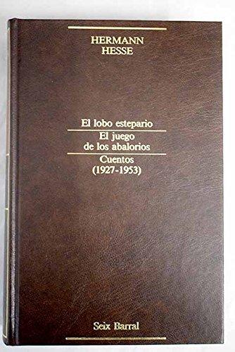 9788432224034: Narrativa completa, vol. 4: El lobo estepario ; El juego de los abalorios ; Cuentos (1927-1953)