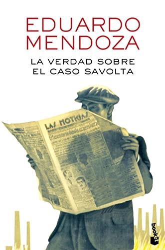 9788432225918: La verdad sobre el caso Savolta (Biblioteca Eduardo Mendoza)