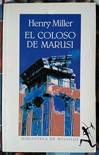 9788432230905: El coloso de marusi