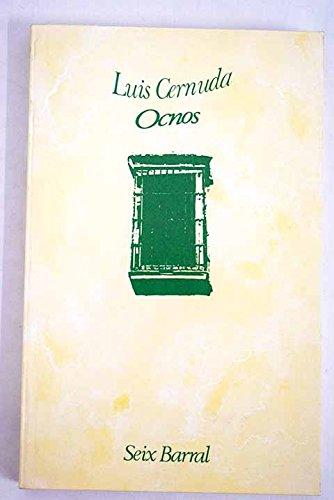 9788432238390: Ocnos (Biblioteca breve de bolsillo : Serie mayor ; 37) (Spanish Edition)