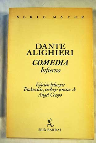 9788432238512: Comedia: Infierno. Edición bilingüe