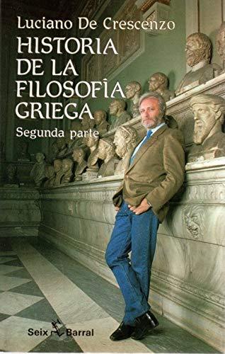 9788432245923: Historia de la filosofía griega II