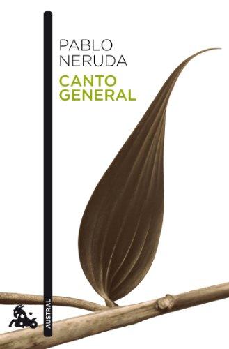 9788432248160: Canto general (Poesía)