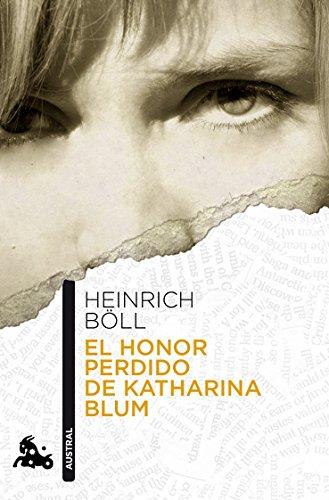 9788432248184: El honor perdido de Katharina Blum