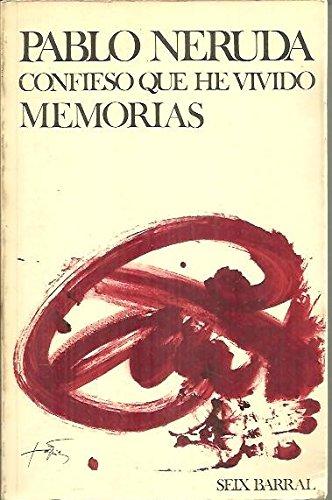 9788432295010: Confieso que he vivido ;: Memorias (Biblioteca breve, 365) (Spanish Edition)