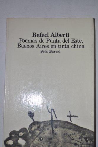 Poemas de Punta del Este ; Buenos: Alberti, Rafael