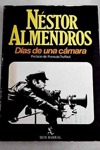 9788432295652: Días de una cámara