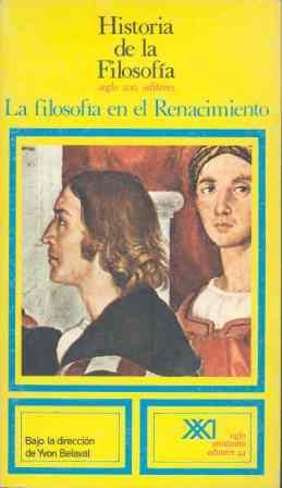 9788432301360: LA FILOSOFIA EN EL RENACIMIENTO (T.5.)