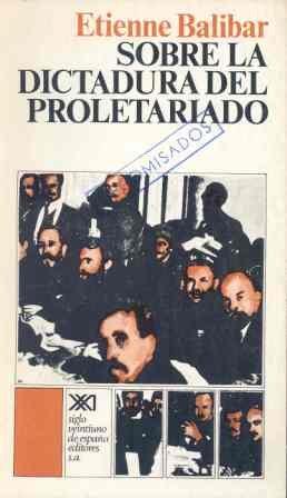 9788432302503: Sobre la dictadura del proletariado (Teoría)
