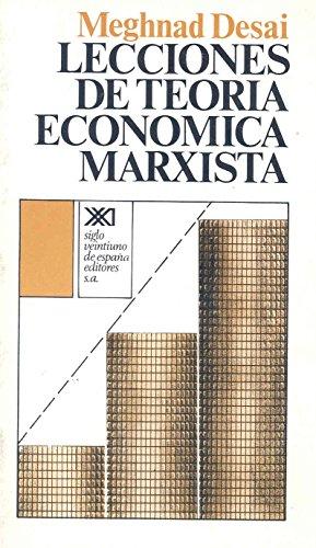 9788432302718: Lecciones de teoría económica marxista (Economía y demografía)