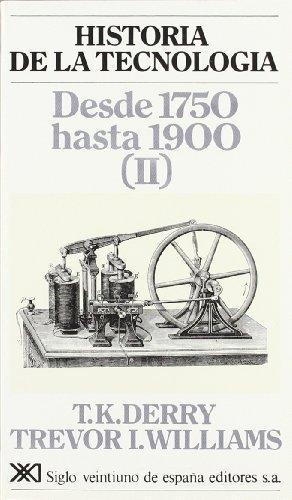 9788432302817: Historia de la tecnología. III: Desde 1750 hasta 1900 (II)