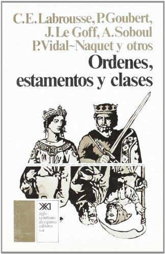 9788432303203: Órdenes, estamentos y clases (Historia)