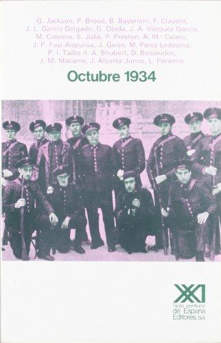 9788432305153: Octubre 1934: Cincuenta años para la reflexión (Historia) (Spanish Edition)
