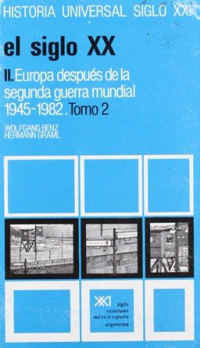 9788432305719: Historia Universal El Siglo XX II - Europa Despues de La Segunda Guerra Mundial Volumen 35 (Spanish Edition)